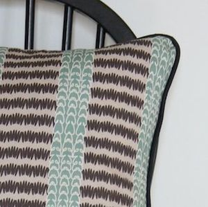 Badger Paws Inspired Patterned Cushion - living room