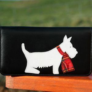 Leather Scottie Dog Purse - bags & purses