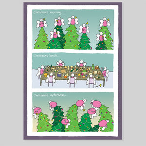 Fairy Lites Christmas Card - christmas cards