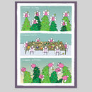 Fairy Lites Christmas Card