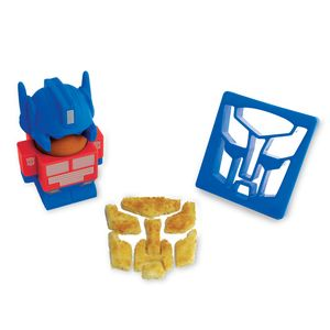 Optimus Prime Egg Cup And Toast Cutter - kitchen