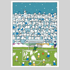 Football Christmas Card - christmas cards
