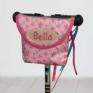 Child's Vintage Rose Handlebar Bag