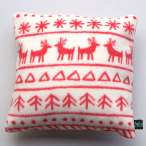 Child's Fair Isle Pyjama Cushion Case