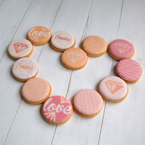 Personalised Love Cookie Box - cakes & treats