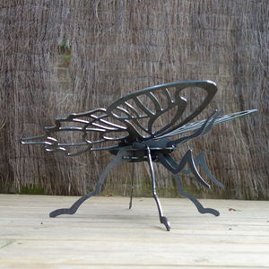 Butterfly Metal Sculpture - sculptures & ornaments