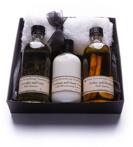 Two Bath Essences And A Body Lotion Gift Box