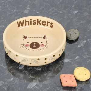 Cats Personalised Bowl - cats