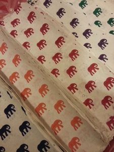 Elephant Parade Handmade Paper Gift Wrap Set - wrapping paper