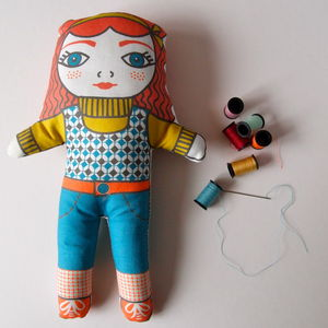 Diy Make Your Own Dolly Kit Penelope - children's room accessories
