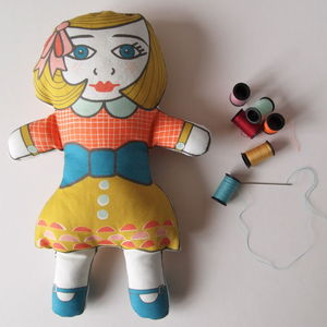 Diy Make Your Own Dolly Kit Margot - children's room accessories