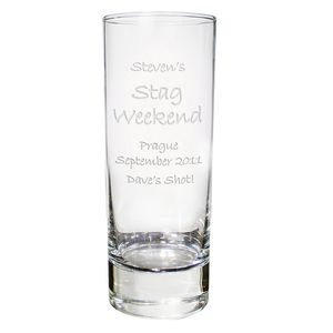 Stag Weekend Personalised Shot Glass
