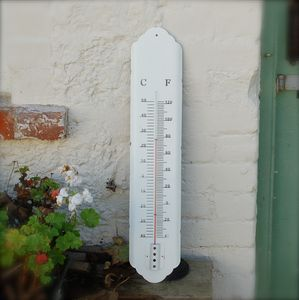 Large White Temperature Gauge Thermometer - tools & equipment