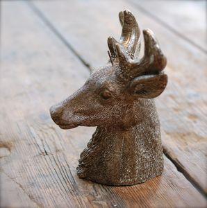 Reindeer Stag Head Candle