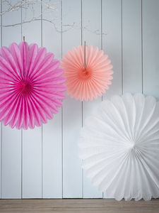 Paper Fans - bunting & garlands