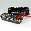 Fun retro design glasses case cinema TV fathers day gift for dad grandad