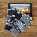 Touchscreen Chunky Knit Gloves