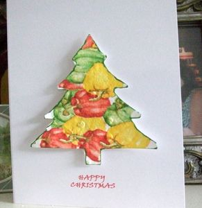 Pepper Seed Christmas Card