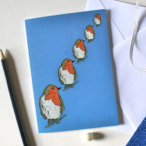 Robin Christmas Card - view all sale items