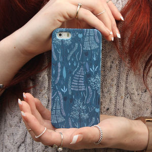 Midnight In The Woods iPhone Four Five And Six Case