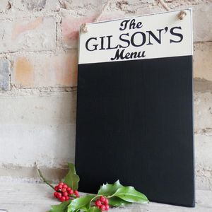 Personalised Vintage Style Chalkboard - art & decorations