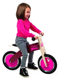 Personalised Pink Wooden Balance Bike - baby & child sale
