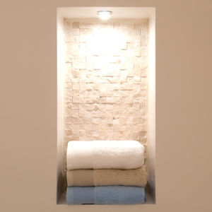 Como 700gsm Organic Cotton Luxury Towels - bathroom
