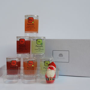 Six 'Periodic' Cocktail Infused Jellies - food gifts