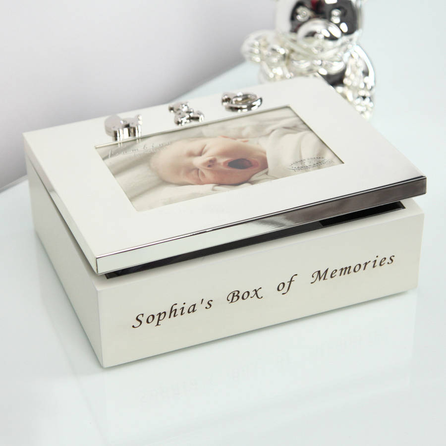 Personalised Baby Keepsake Box & personalised baby keepsake box by my 1st years ... Aboutintivar.Com