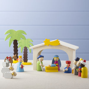 Childrens Nativity Set - nativity scenes & figures
