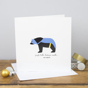 Jingle Bells Batman Smells, Christmas Card