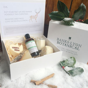 Create Your Own Personalised Christmas Gift Box - skin care