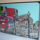 Set Of Four London Placemats