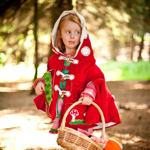 Toadstool Cape - gifts for children