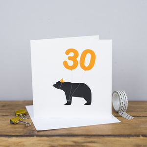 30th Birthday Card - birthday cards
