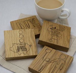 'The Daddy' Coaster Set
