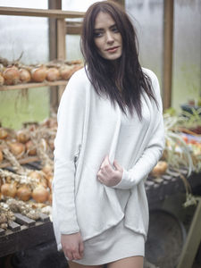 Pure Merino Wool Shrug Cardie