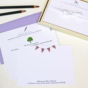 Create Your Own Smart Correspondence Cards - writing