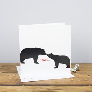 I Love You Card - sentimental cards