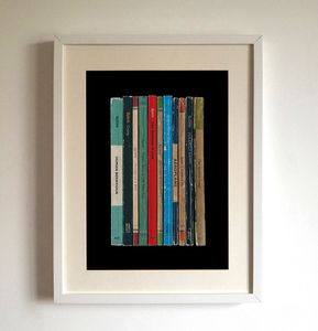 Bjork 'Debut' Album As Books Poster