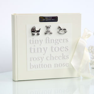 Personalised Baby Photo Album - new baby gifts