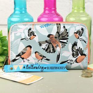 'Collective Noun' Bullfinch Wallet