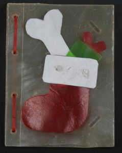 Edible Christmas Card For Dogs Stocking