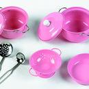 Pink cooking set