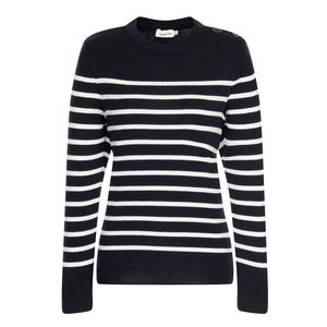 Merino Wool Breton Sweater - nautical necessities