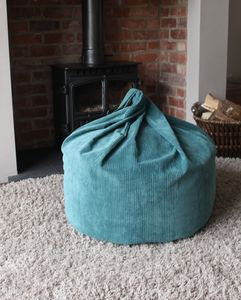 Corduroy Beanbag - bedroom