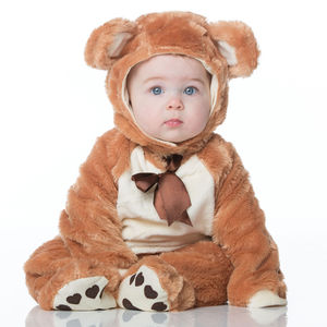Baby Teddy Bear Dress Up Costume - pretend play & dressing up