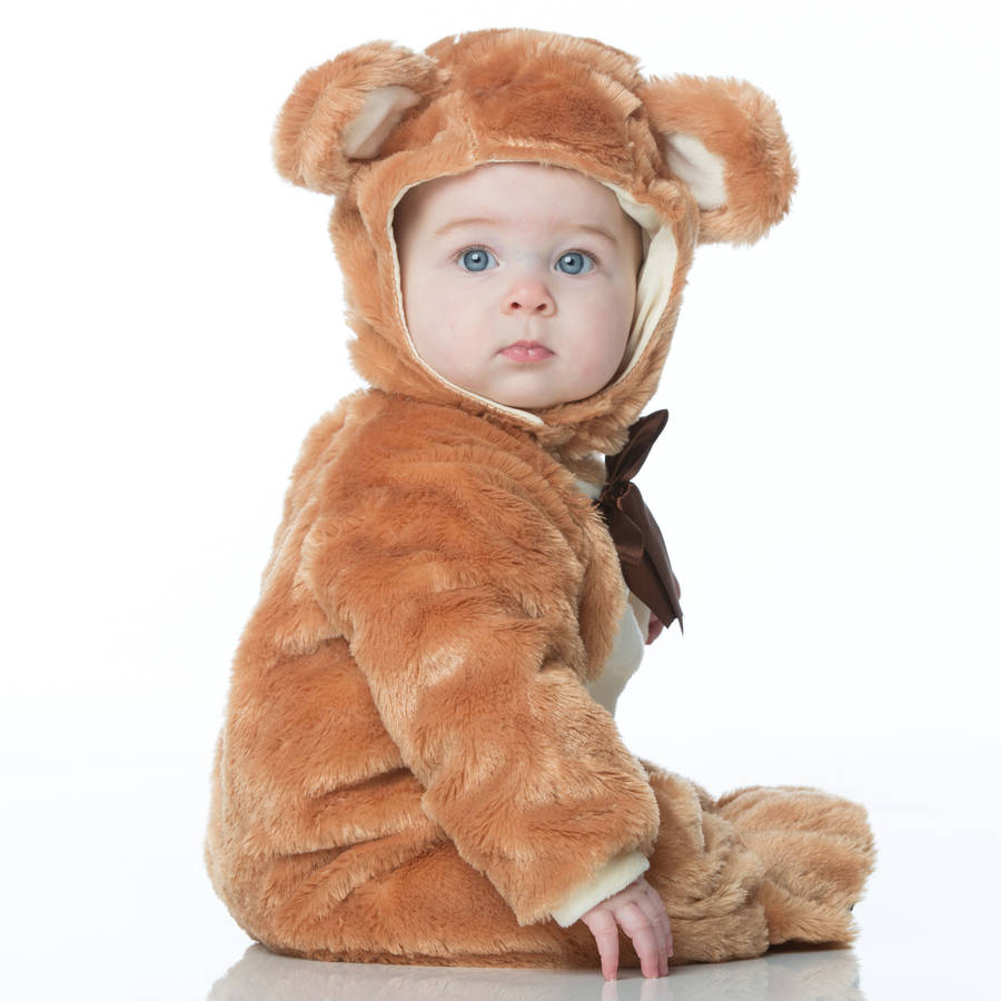 Baby Teddy Bear Dress Up Costume  sc 1 st  Notonthehighstreet.com & baby teddy bear dress up costume by time to dress up ...