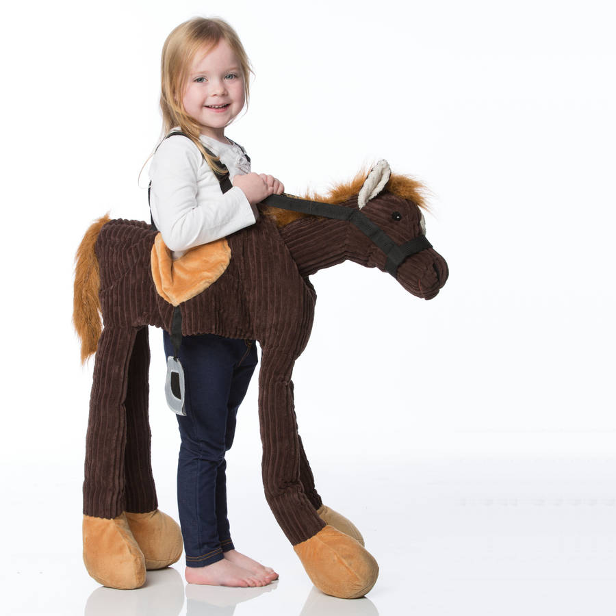 Dress Up: Children's Ride On Pony Dress Up Costume By Time To Dress