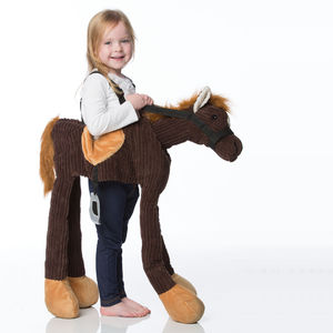 Children's Ride On Pony Dress Up Costume - pretend play & dressing up